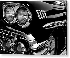 1958 Chevy Impala Acrylic Print by David Patterson