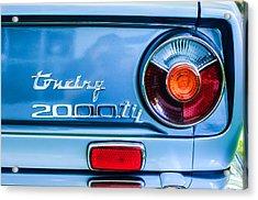 1972 Bmw 2000 Tii Touring Taillight Emblem -0182c Acrylic Print