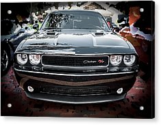 2013 Dodge Challenger  Acrylic Print by Rich Franco
