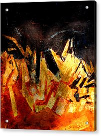 Abstract-6 Acrylic Print by Anand Swaroop Manchiraju