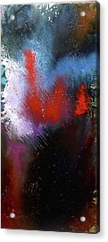 Acrylic Print featuring the painting Abstract by Min Zou