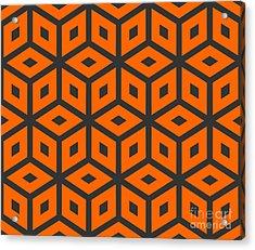Abstract Retro Pattern. Vector Acrylic Print by Artsandra