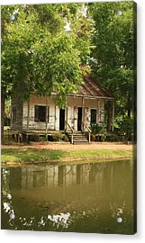 Acadian Village Lafayette Louisiana Acrylic Print by Ronald Olivier