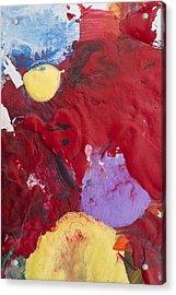 Acrylic Abstract Painting Acrylic Print