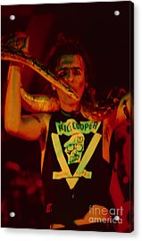 Alice Cooper At The Concord Pavillion Acrylic Print