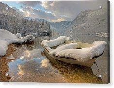 Alpine Clarity Acrylic Print by Ian Middleton