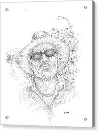 3 Amigos Sevriano Acrylic Print by Steve Knapp