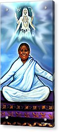 Amma And Kali Acrylic Print by Carmen Cordova