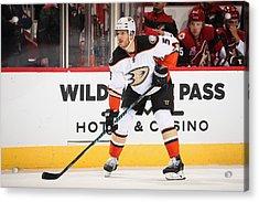 Anaheim Ducks V Arizona Coyotes Acrylic Print by Christian Petersen