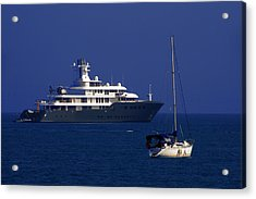 Antibes - Superyachts Of Billionaires Acrylic Print