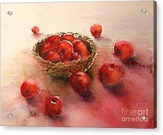Apples  Apples Acrylic Print