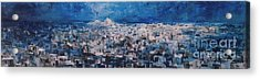 Athens Is Sleeping Acrylic Print by Jelena Ignjatovic