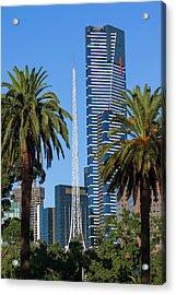 Australia, Victoria, Melbourne Acrylic Print by Walter Bibikow