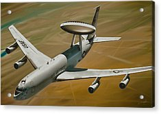 Awacs Up For A Drink Acrylic Print