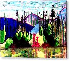 Backwoods  Acrylic Print