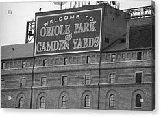 Baltimore Orioles Park At Camden Yards Acrylic Print by Frank Romeo
