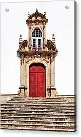 Baroque Portal Acrylic Print by Jose Elias - Sofia Pereira