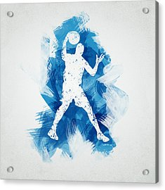 Basketball Player Acrylic Print