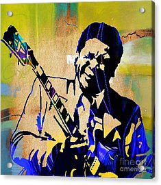 Bb King Collection Acrylic Print by Marvin Blaine