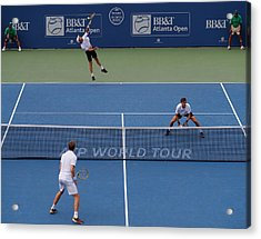 Bb&t Atlanta Open - Day 7 Acrylic Print by Kevin C. Cox