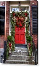 Beacon Hill Doorways Acrylic Print
