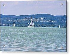 Beautiful Lake Balaton  Acrylic Print