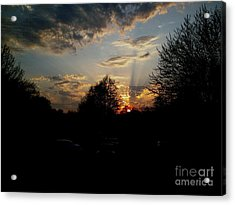 Acrylic Print featuring the photograph Beauty In The Sky by Kelly Awad