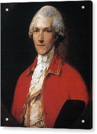 Benjamin Thompson (1753-1814) Acrylic Print