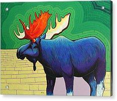 Big Blue Acrylic Print by Joe  Triano