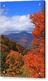 Blue Ridge Fall Acrylic Print