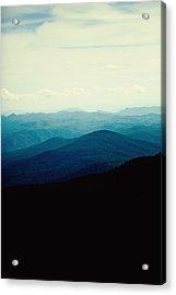Blue Ridge Mountains Acrylic Print by Kim Fearheiley