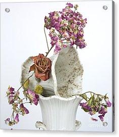 Bouquet Acrylic Print by Bernard Jaubert