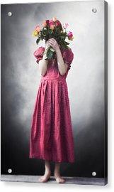 Bouquet Of Flowers Acrylic Print by Joana Kruse