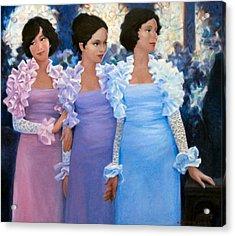 Brides Maids Acrylic Print