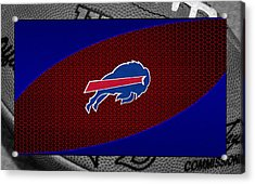 Buffalo Bills Acrylic Print by Joe Hamilton