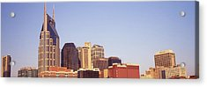 Buildings In A City, Bellsouth Acrylic Print by Panoramic Images