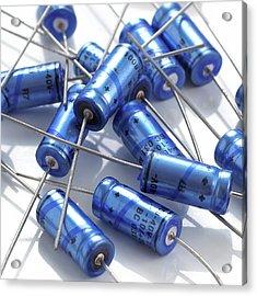 Capacitors Acrylic Print
