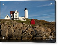 Cape Neddick Lighthouse Acrylic Print by John Shaw