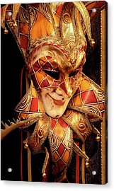 Carnivale Mask 1 Acrylic Print