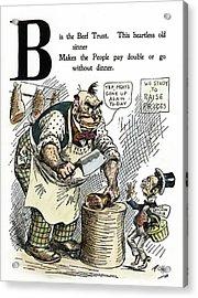 Cartoon Anti-trust, 1902 Acrylic Print