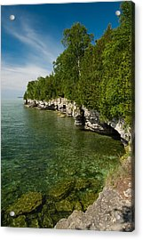 Cave Point County Park Acrylic Print