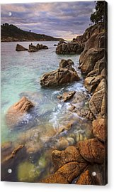 Acrylic Print featuring the photograph Chanteiro Beach Galicia Spain by Pablo Avanzini