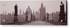 Charles Bridge Prague Czech Republic Acrylic Print
