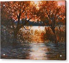 Cheney Sunset Acrylic Print