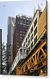 Chicago Loop 'l' Acrylic Print