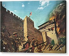 China Boxer Rebellion Acrylic Print by Granger