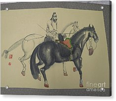 Chinese Painting Acrylic Print