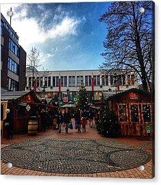 Christmas Market Elmshorn Hamburg Acrylic Print