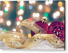 Christmas Still-life Acrylic Print by Carlos Caetano