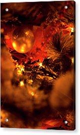 Christmas Acrylic Print by Terry Thomas
